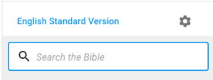 Change bible version